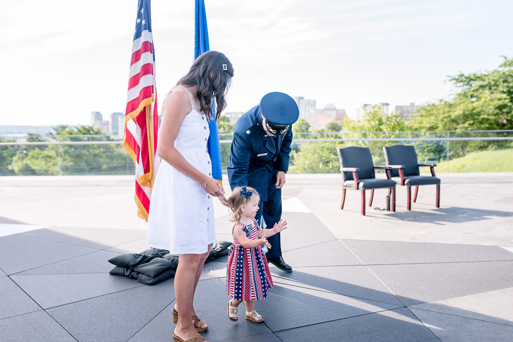 Air Force Promotion at Air Force Memorial | Bill's Promotion