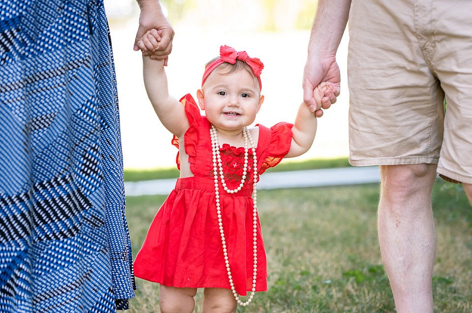 Silver Spring Family Photographer | Yael's First Birthday