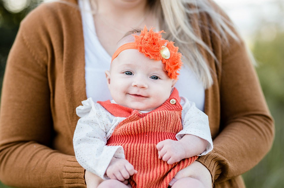 Southern Maryland Family Photographer   Mackenzie {3 Months Old}