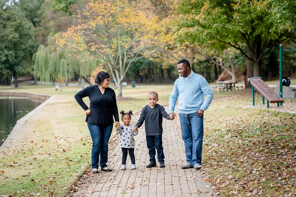 family in bowie, maryland