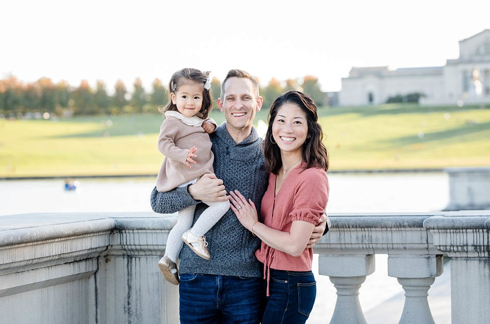 STL Family Photographer | S Family in Forest Park