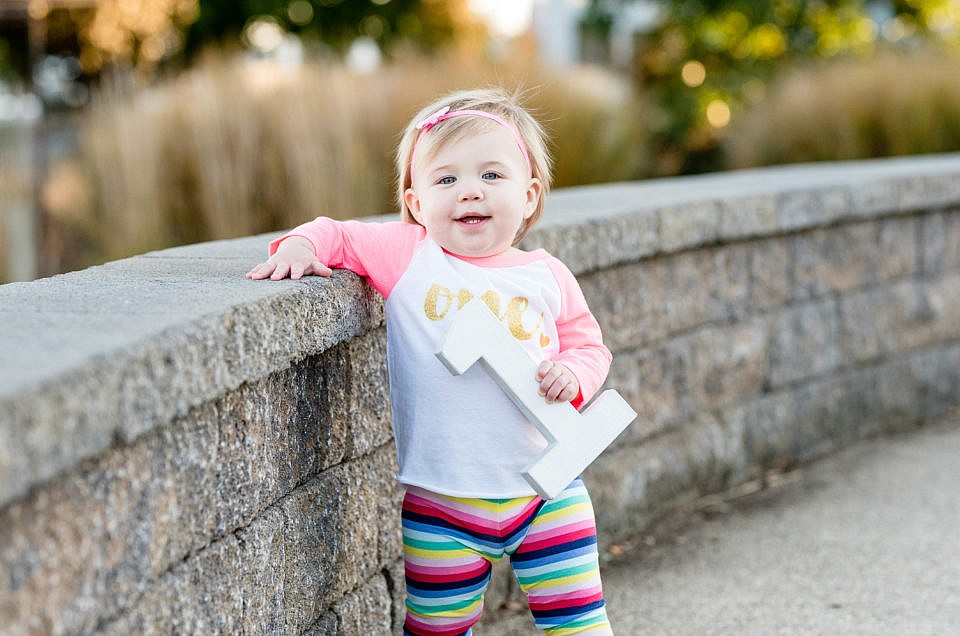 North Beach MD 1-Year-Old Session | Nora
