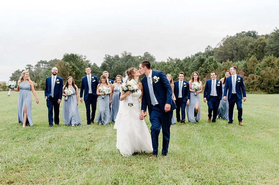 Rustic Southern Maryland Wedding | C + A