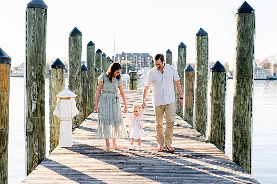Downtown Annapolis Family Session | The V Family
