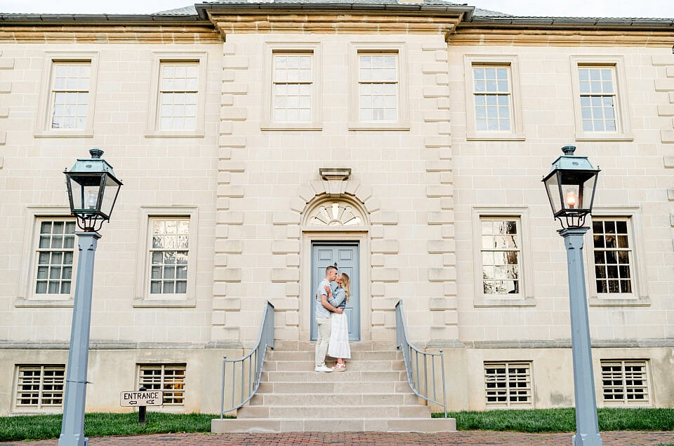 Old Town Alexandria Engagement Session | Lisa + Spencer