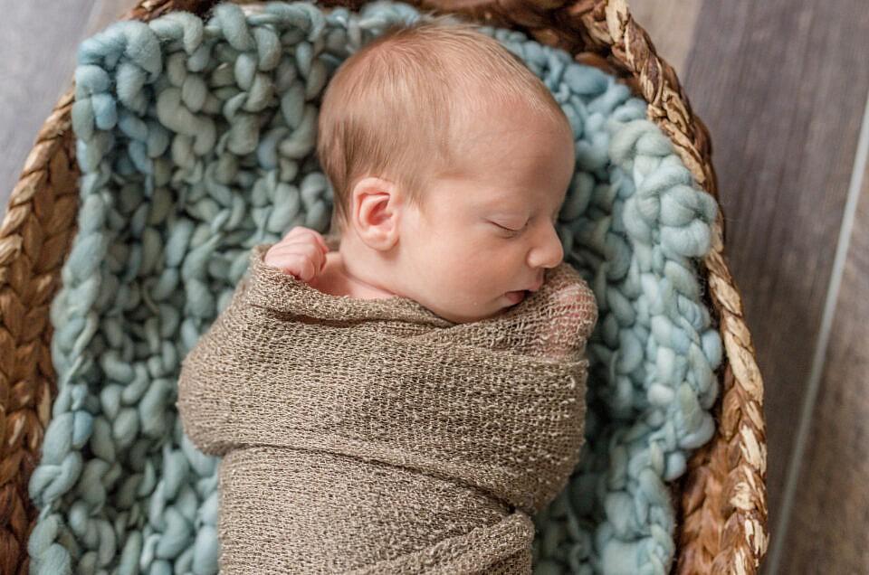 Washington DC Lifestyle Newborn Photographer  | Luke