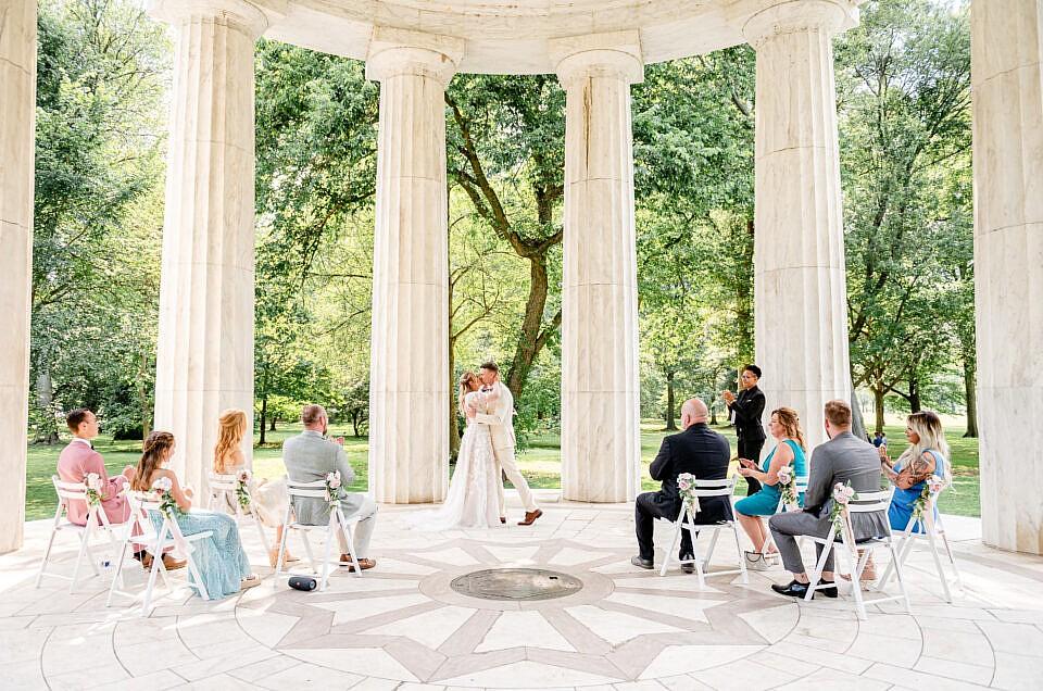 DC War Memorial Wedding | Lisa + Spencer